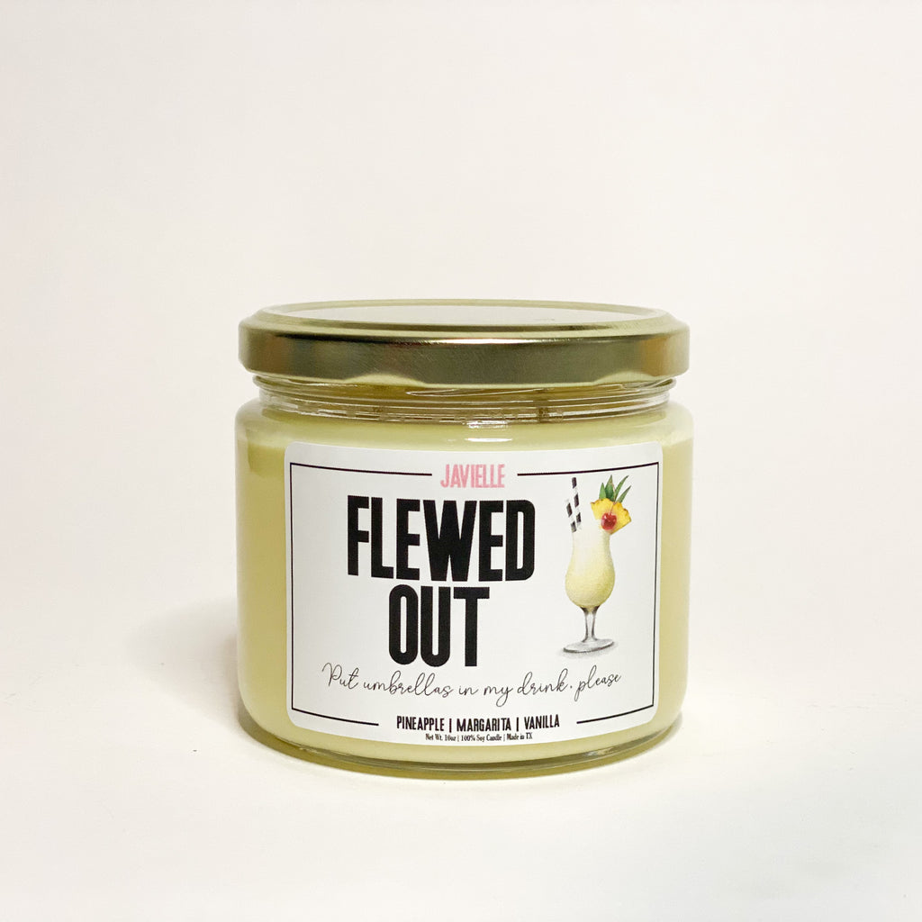 Flewed Out Soy Candle