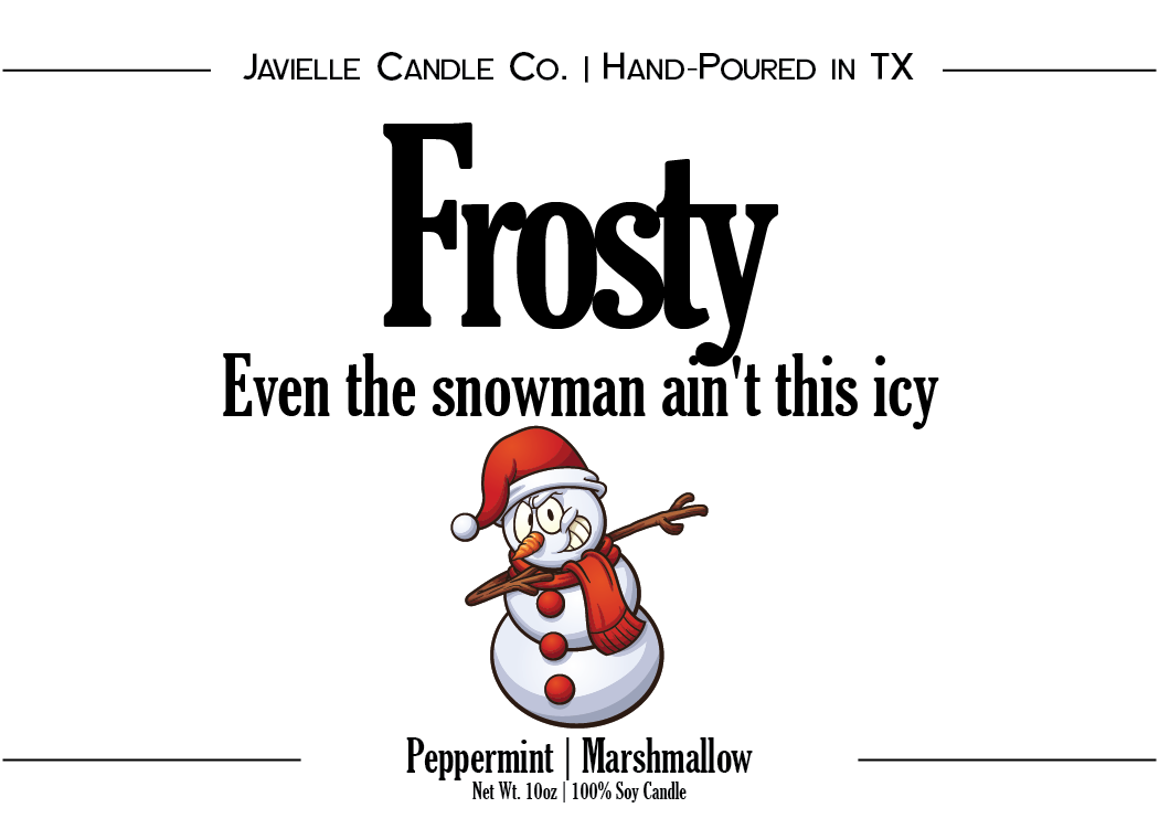 Frosty Soy Candle