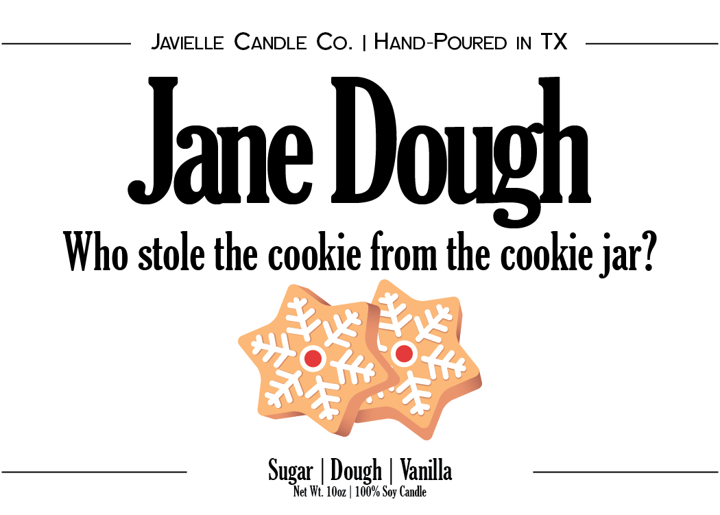Jane Dough Soy Candle