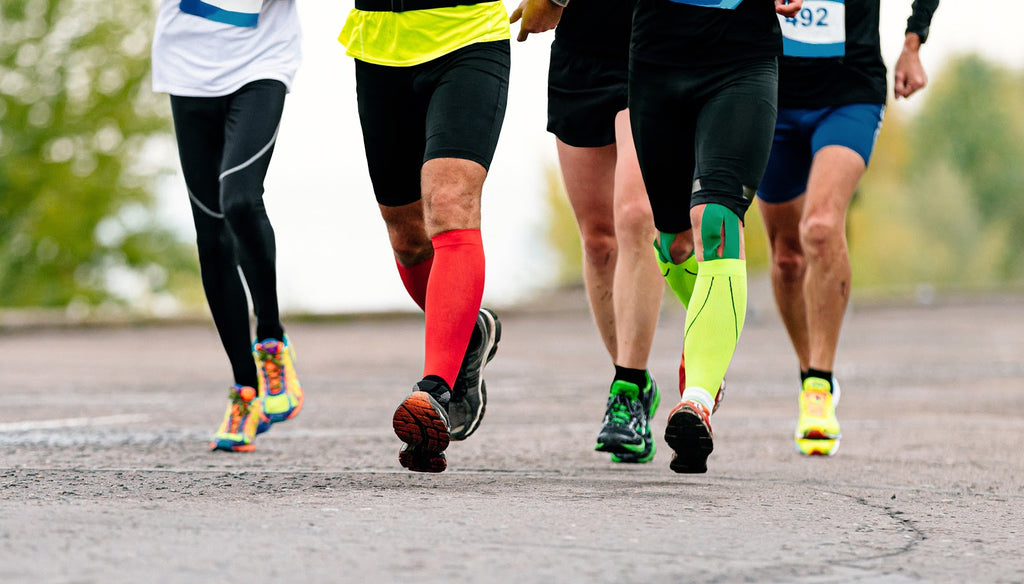 Benefits of compression socks for runners: Marathon runners