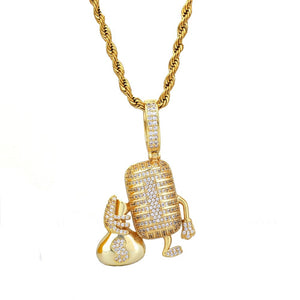 Rock The Mic Pendant