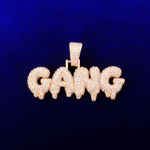 Iced Out GANG Pendant