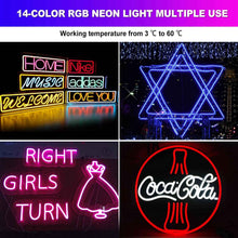 Load image into Gallery viewer, 150ft 14 colors RGB LED Neon Rope Light Shine-Decor