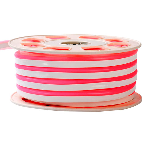 110V 15x25mm Red LED Neon Rope Light -50ft -