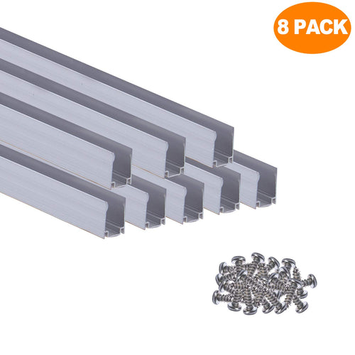 Aluminum Channel Track for 7x14.5mm LED Neon Light -