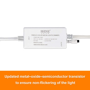 Dimmer for 12.5x23mm Single Color LED Neon Light -