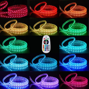 120V 8x15.5mm LED RGB Strip Light -