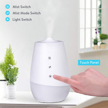 Load image into Gallery viewer, Oil Diffuser Quiet Cool Mist Humidifier 3000K LED Night Light -