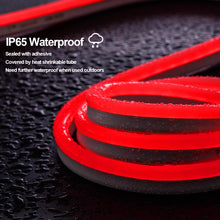 Load image into Gallery viewer, 120V 12.5x23mm LED Neon Rope Light Red Color - 150ft -