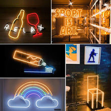 Load image into Gallery viewer, Shine Decor Connectable LED Neon Rope Lights Outdoor Cold-Resistant