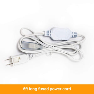 Power Cord for 7x15mm LED Double Row Strip Light -