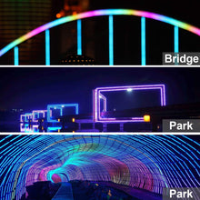 Load image into Gallery viewer, 110V 7x15mm Color Changing LED RGB Strip Light - 50ft -