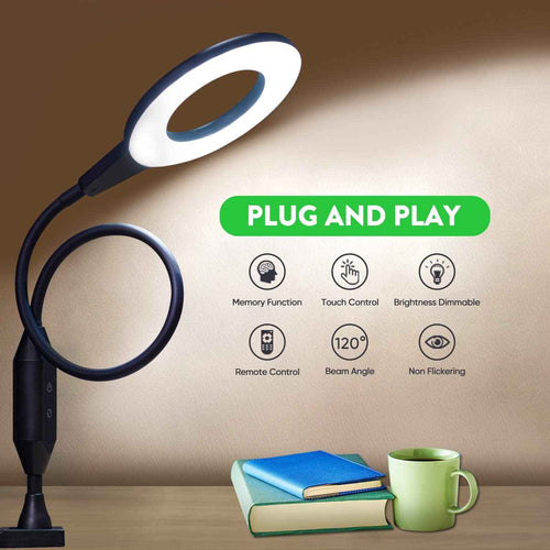 Care Ring Dimmable Clamp Table Lamps Shine-Decor