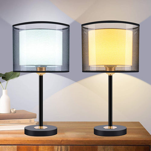 Mordern Beside Table Lamp Nightstand Desk Lamp-Shine Decor