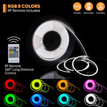 Load image into Gallery viewer, rgb-silicone-neon-rope-light-shine-decor