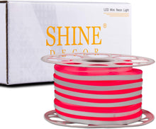 Load image into Gallery viewer, Red LED neon strip rope light, SMD2835, 50ft-Shine Decor