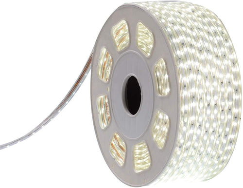 110V 7x10mm Cool White LED Strip Light - 150ft