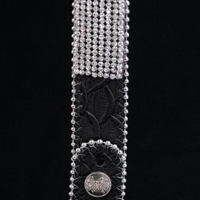 Glam Crystals on Snake Belt Strap (4 variations)
