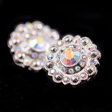Load image into Gallery viewer, Rhinestone Rosette Concho Set/5 (9 variations)