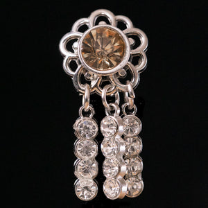 Cascade Crystal Concho Set/5 - (8 variations)