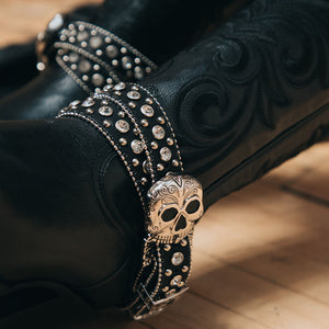Skull Face Buckle Set