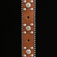 Load image into Gallery viewer, Concho Style Belt Strap