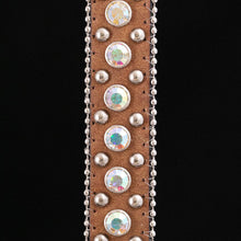 Load image into Gallery viewer, Classic Saddle Brown Belt Strap (8 variations)