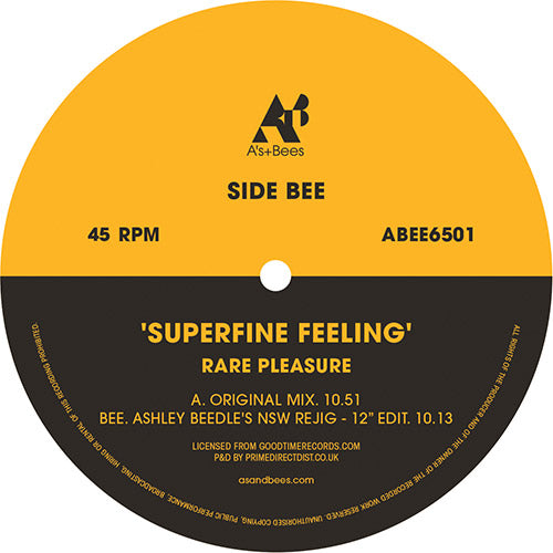 Rare Pleasure - Superfine Feeling - A'S AND BEES