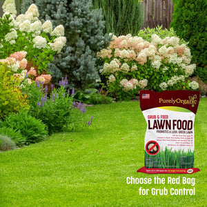 Grub & Feed Lawn Food (15 Lb - Covers 3000 Sq Ft)