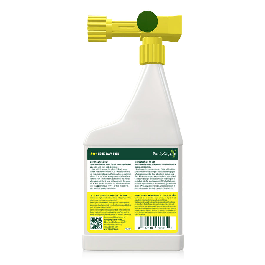 Liquid Lawn Food 13-0-4 (Concentrated Spray - Covers 5,000 Sq Ft)