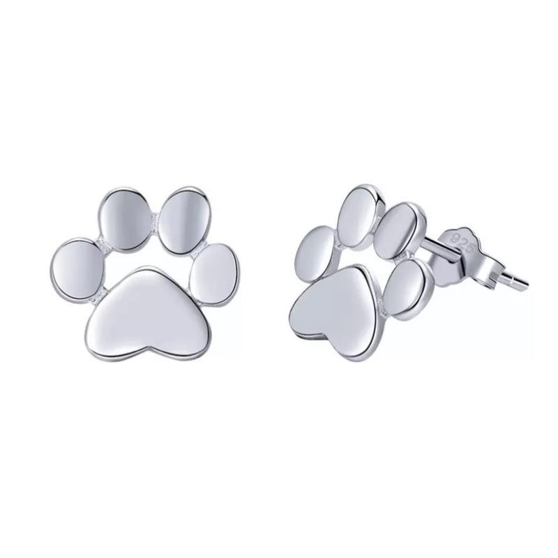 Petra Paw Sterling Silver Earrings