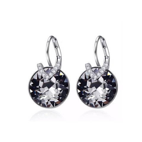 Sylvie Smoke Earrings