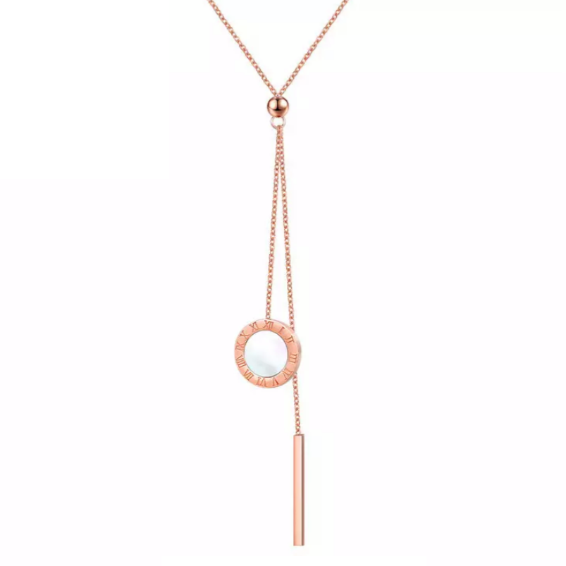 Emma Rose Gold Necklace