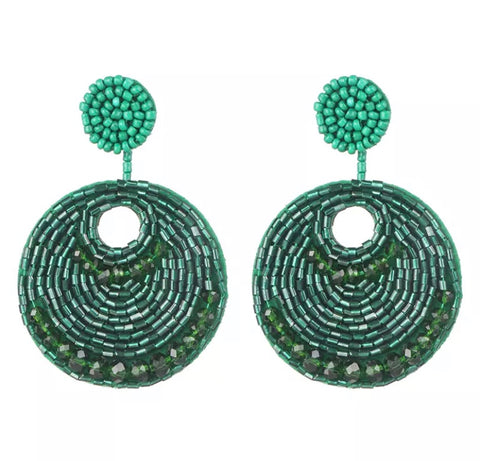 Chantae Green Earrings