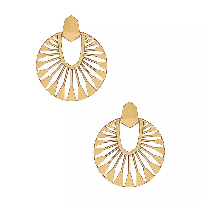 Esmee Gold Earrings - SOLD OUT MORE STOCK COMING