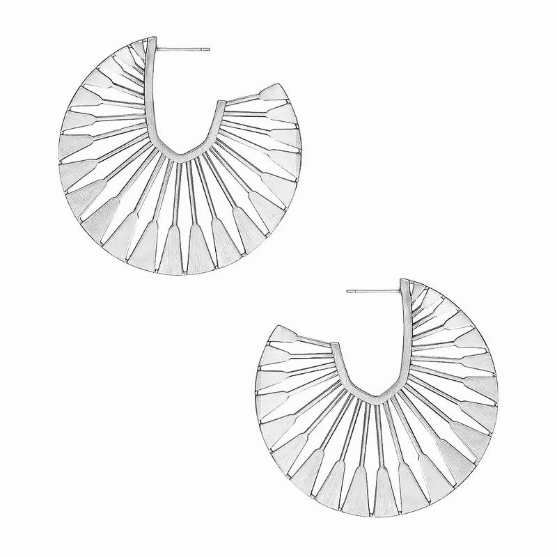 Blisse Silver Earrings