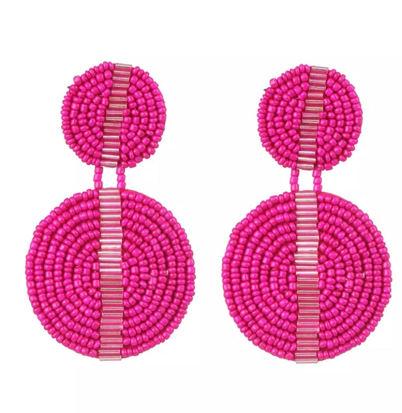 Chantae Pink Earrings