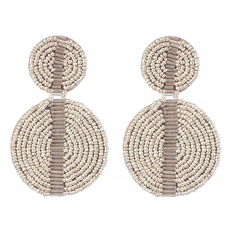 Chantae Silver Earrings