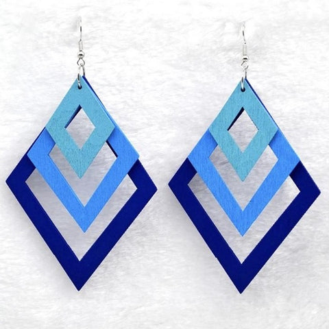 Torfi Blue Earrings
