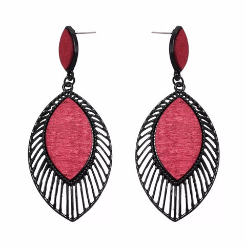 Evelina Cedar Earrings