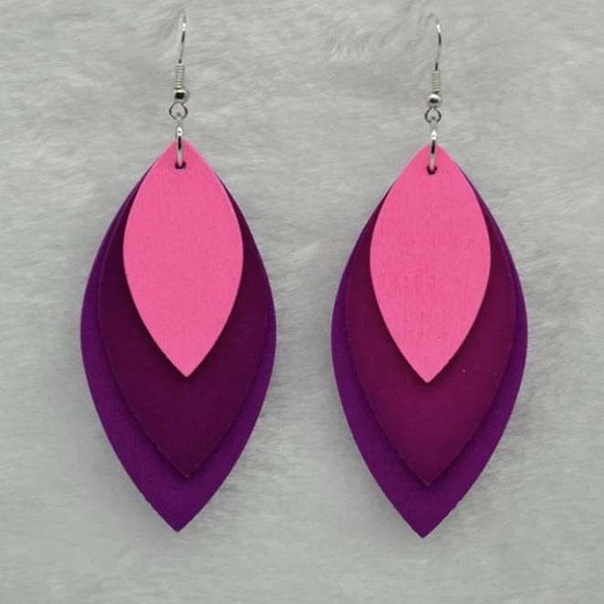 Evangelina Pink Earrings