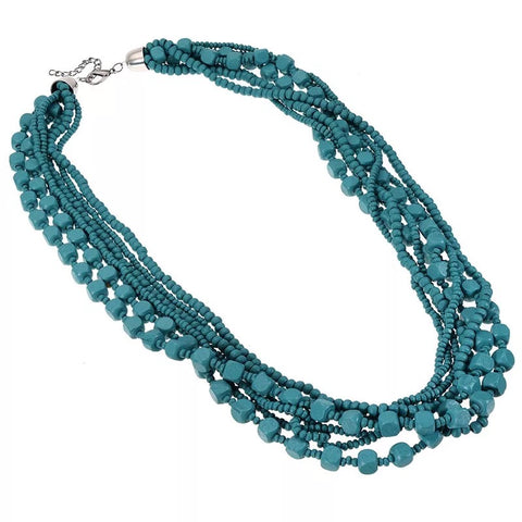 Dalas Teal Necklace