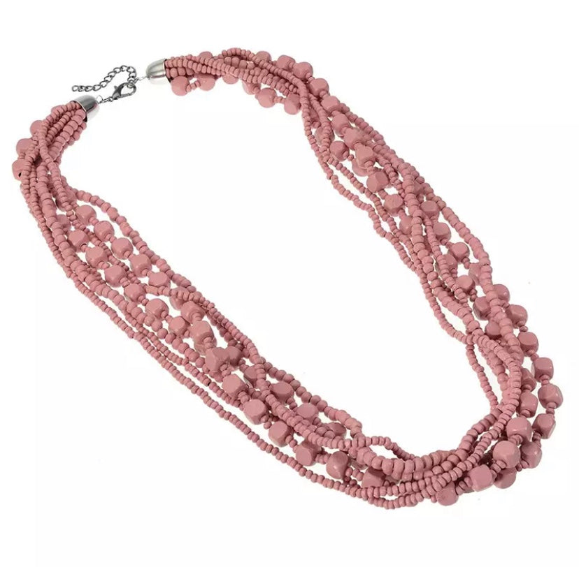 Dalas Pink Necklace