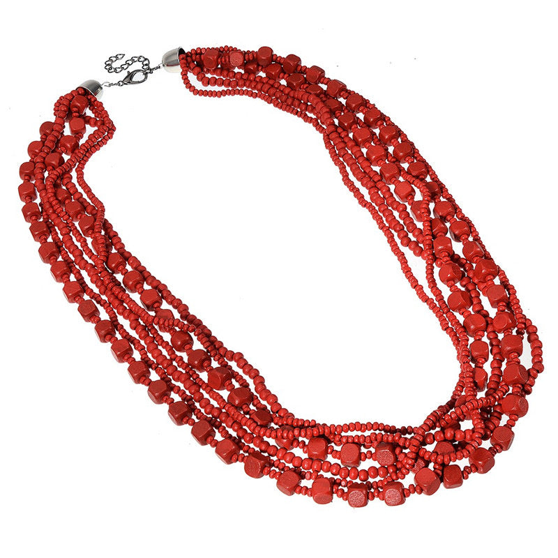 Dalas Red Necklace