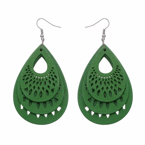 Tamar Green Earrings