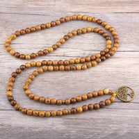 The Mala Wooden Tree of Life Necklace/Bracelet