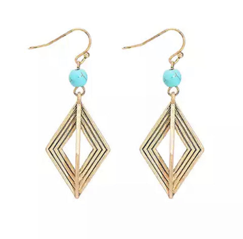 Farrah Gold Earrings