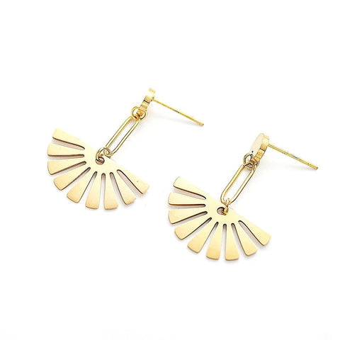 Finnley Fan Earrings