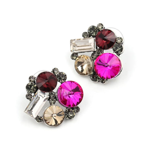 French Pink Earrings