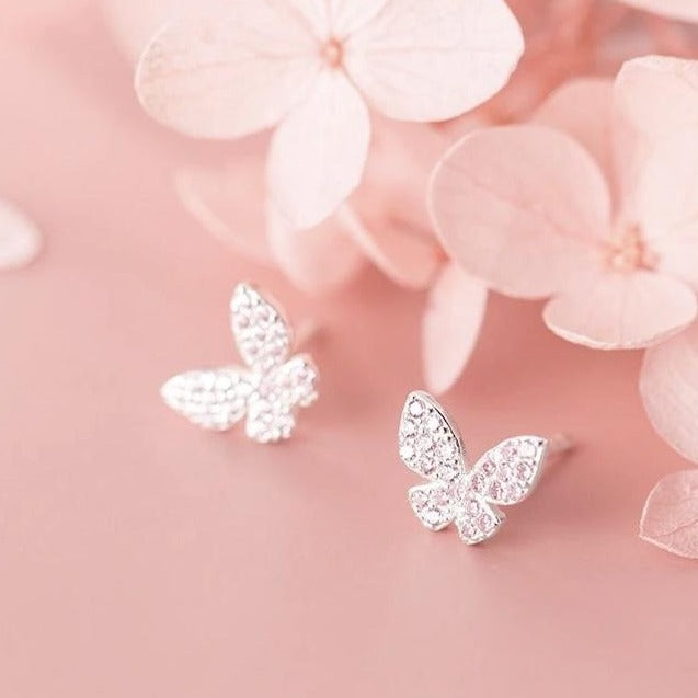 Butterfly Bling Earrings